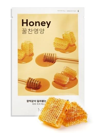 Missha Bal Içerikli Yoğun Nemlendirici Yaprak Maske (1Ad) Airy Fit Sheet Mask Honey Renksiz